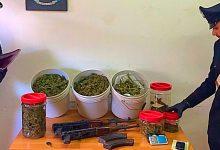 Lentini| Armi, munizioni e droga in un garage, dopo due mesi di indagini individuato il responsabile