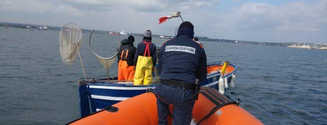 Augusta| Rete da pesca sequestrata nel porto megarese dalla Guardia Costiera