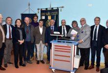 Augusta| Donazione del Rotary club al Muscatello di un carrello per le emergenze