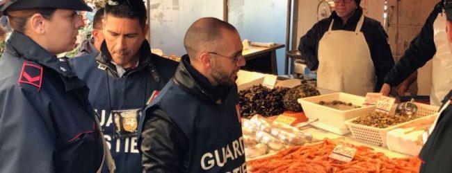 Siracusa  Controlli al mercato, sequestrato pesce e chiusa un'attività