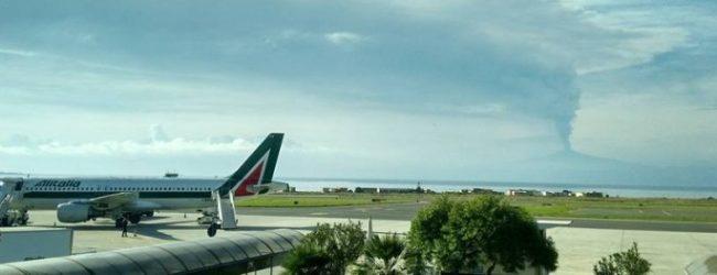 CATANIA| Etna, limitati voli sino alle 6 di stamane