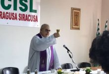 """Siracusa  Messa alla Cisl, """"la Chiesa è Donna"""""""