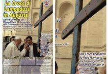 Augusta  La Croce di Lampedusa in città