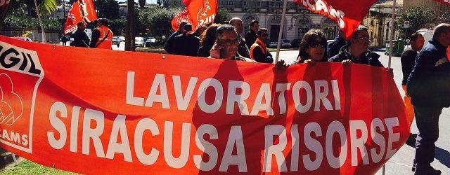 Siracusa  Siracusa Risorse, una crisi lunga 36 mesi