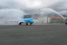 Catania| KLM atterra per la prima volta nella storia al Fontanarossa