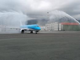 Catania  KLM atterra per la prima volta nella storia al Fontanarossa