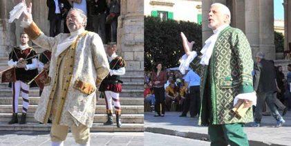 Noto  Corteo Barocco di Noto, Domenica il Palio dei Tre Valli di Sicilia