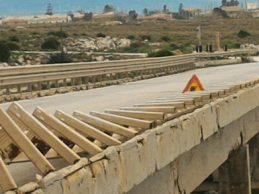Portopalo  Accertamenti per il ponte Calafarina