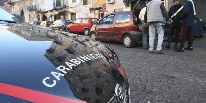 Floridia  Evaso, vede i carabinieri e si nasconde sotto una macchina. Arrestato