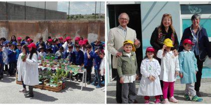 """Augusta  Amica terra – Gli alunni di tutti i Plessi del 2° I. C. """"O.M. Corbino"""" hanno anticipato la celebrazione della """"Giornata mondiale della terra"""""""
