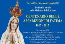 Siracusa| Si commemora il Centenario delle apparizioni di Fatima