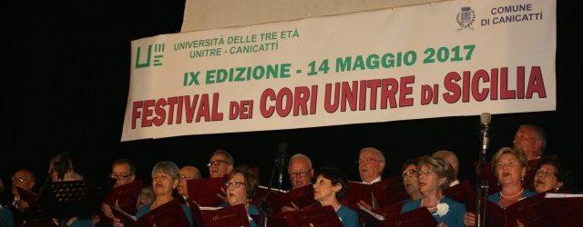 Augusta| La corale Unitre di Augusta si esibisce al IX Festival dei Cori di Sicilia