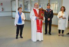 Lentini | La reliquia di sant'Alfio in pellegrinaggio tra le corsie dell'ospedale