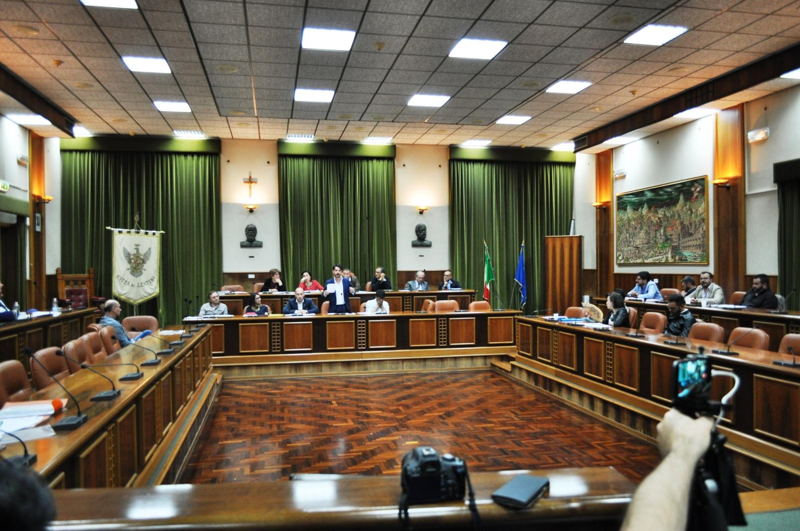 consiglio comunale lentinese
