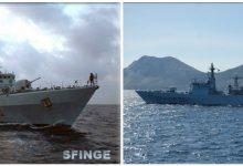 Augusta| Marina Militare, ultimo ammaina bandiera delle corvette Fenice e Sfinge