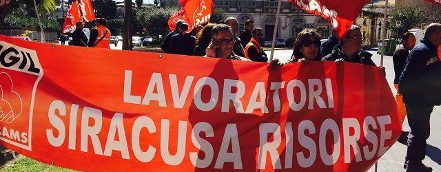 Siracusa| Situazione insostenibile per i lavoratori di Siracusa Risorse