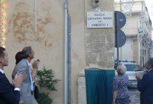 Palazzolo  Cointitolata a Giovanni Nigro piazza Umberto I