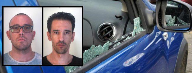 Augusta| Arrestati due ladri che rubavano nelle autovetture parcheggiate al cimitero