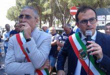 Melilli| Protesta dei sindaci di Giuseppe Carta e Antonello Rizza