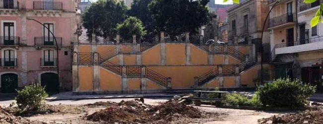 Lentini | Lavori a piazza Oberdan, Cunsolo (M5s): «Riprendiamoci le piazze, ma rispettiamo le regole»