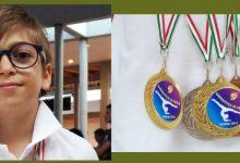 Augusta  Ginnastica: Poker di medaglie per l'atleta augustano Simone Speranza
