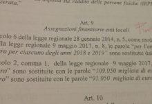 Palermo| Ex Province, previste ulteriori nove assegnazioni finanziarie