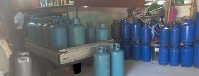 Siracusa| Scoperto deposito di bombole non autorizzato