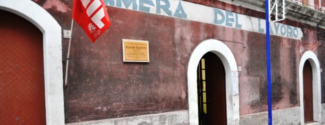 Lentini | L'attacco alla Camera del Lavoro, la gratitudine della Cgil per i numerosi attestati di solidarietà