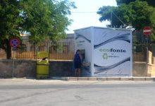 Pachino| Seconda casa dell'acqua attiva in piazza La Malfa nel quartiere San Corrado.