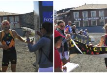 Catania| Sicily Triathlon Series: il catanese Grasso e la trapanese Cernigliaro si aggiudicano l'Etna Sky Duathlon