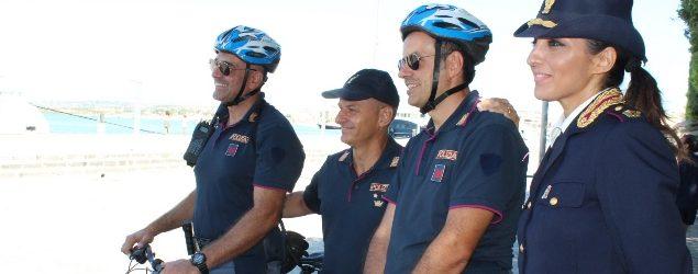 Siracusa  Avviato il servizio poliziotti di quartiere in bicicletta