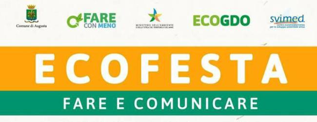 Augusta| Il 28 e 29 Settembre l'EcoFesta