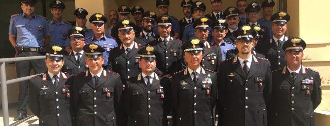 Noto  Saluto di commiato al cap. Sabato Landi, destinato al comando della compagnia carabinieri di Rimini