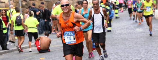 Lentini | Giacomo Di Miceli, unico siracusano presente alla Rome Half Marathon Via Pacis