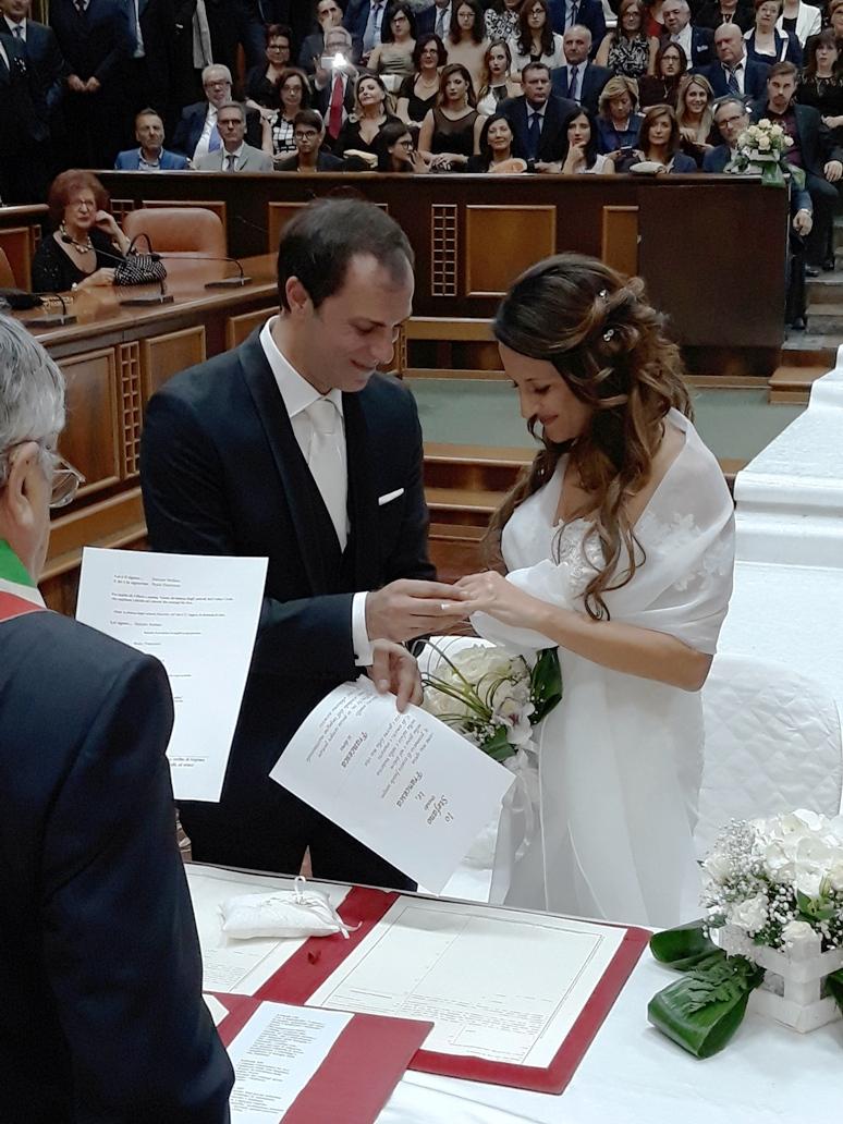 Lentini oggi pomeriggio nell aula consiliare il - Matrimonio in comunione dei beni ...