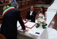 Lentini | Oggi pomeriggio nell'aula consiliare il matrimonio di Francesca Reale e Stefano Battiato