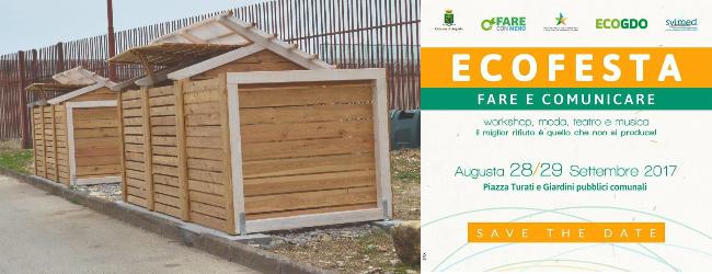 Augusta| Primato per la nuova Casa del Compost