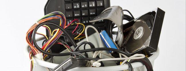 Siracusa  Rifiuti, un'area per il recupero di componenti elettriche ed elettroniche