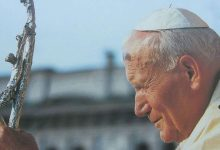 Siracusa  Al Santuario due reliquie di Papa Giovanni Paolo II