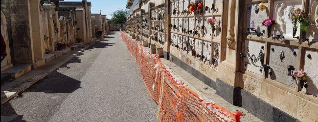 Siracusa  Cimitero-Horror! Anche l'atto vandalico
