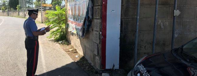 Siracusa| Elezioni, copertura dei manifesti abusivi