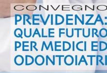 """Siracusa  """"Previdenza: quale futuro per medici ed odontoiatri?"""""""