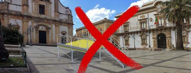 Augusta| Nessun palco per i comizi, mai accaduto. La giunta 5 STELLE PIÙ UNA teme la democrazia