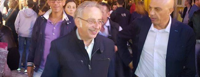 """Siracusa  Vinciullo """"presenta"""" Micari ai suoi elettori"""