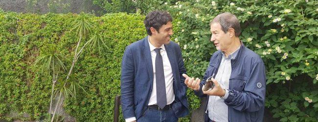 """Siracusa  Ultimo appello. Paolo Cavallaro (Musumeci): """"Con me quei giovani che non si vendono per un panino""""."""