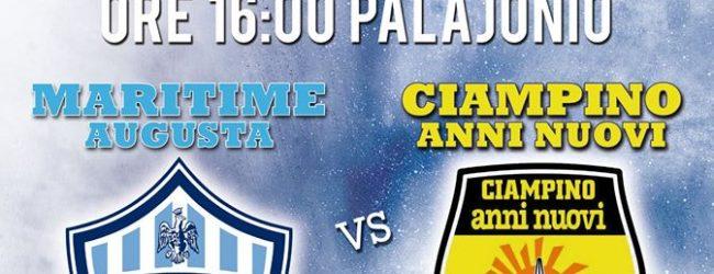 Augusta| Maritime: domani arriva il Ciampino, bianco-blu a caccia della vittoria per continuare a mantenere il primato