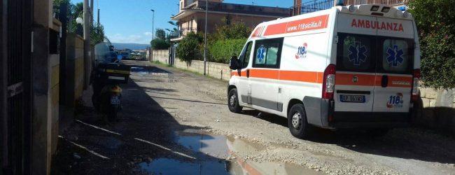 Siracusa| Strade comunali gruviera. In via Mozia ci scappa il ferito!
