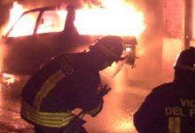 Augusta| Incendiata auto in via San Pietro Martire