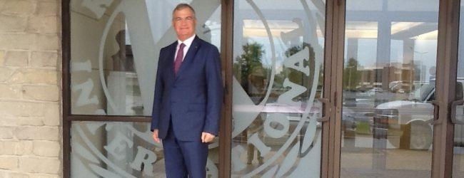 Lentini   Franco Valenti ambasciatore per l'Europa del Kiwanis Children's Fund