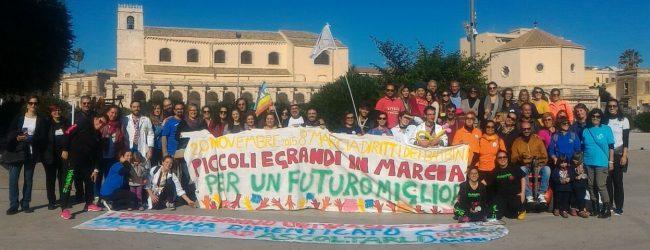 Siracusa| Marcia dei Bambini, città sensibile al sociale